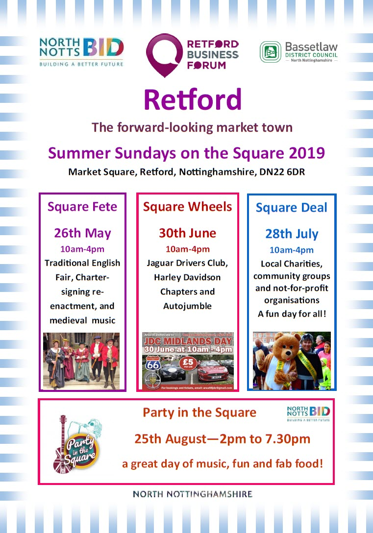 2019 Retford events p1