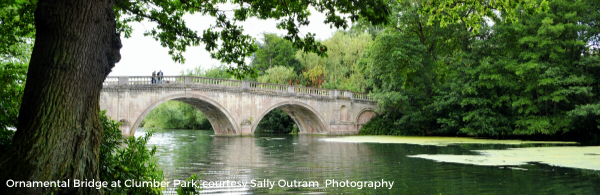 Ornamental Bridge at Clumber Park