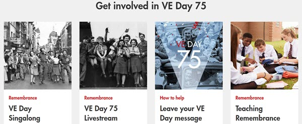 ROyal British Legion Get invoved in VE Day 75