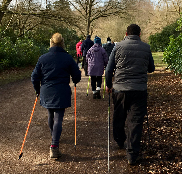 nordic walking group blog