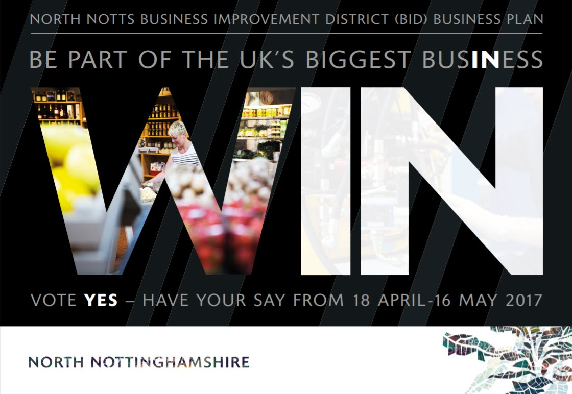north notts business improvement district BID business plan