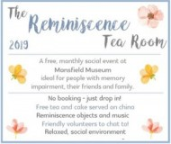 Reminiscence Tea Room, Mansfield event.jpg