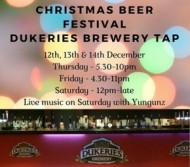 Dukeries Brewery Tap Christmas beer festival event.jpg