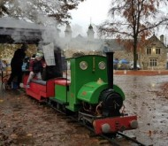 Steam Train rides on There and Back Light Railway at Thoresby Park event.jpg
