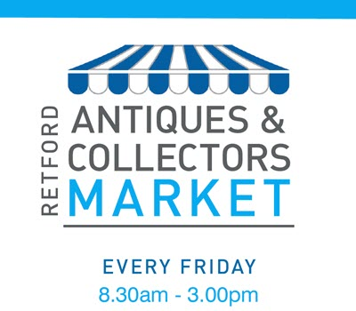 Retford Friday Antiques, Second Hand & Collectables Market