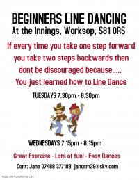 Beginner Line Dancing Classes