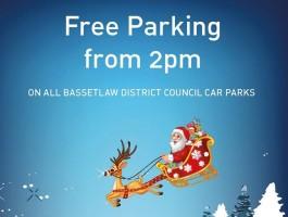 Free Christmas Parking for Retford & Worksop