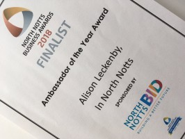 Wow! We're Business Award Finalists!