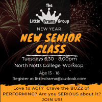 Senior Acting Classes (13+)