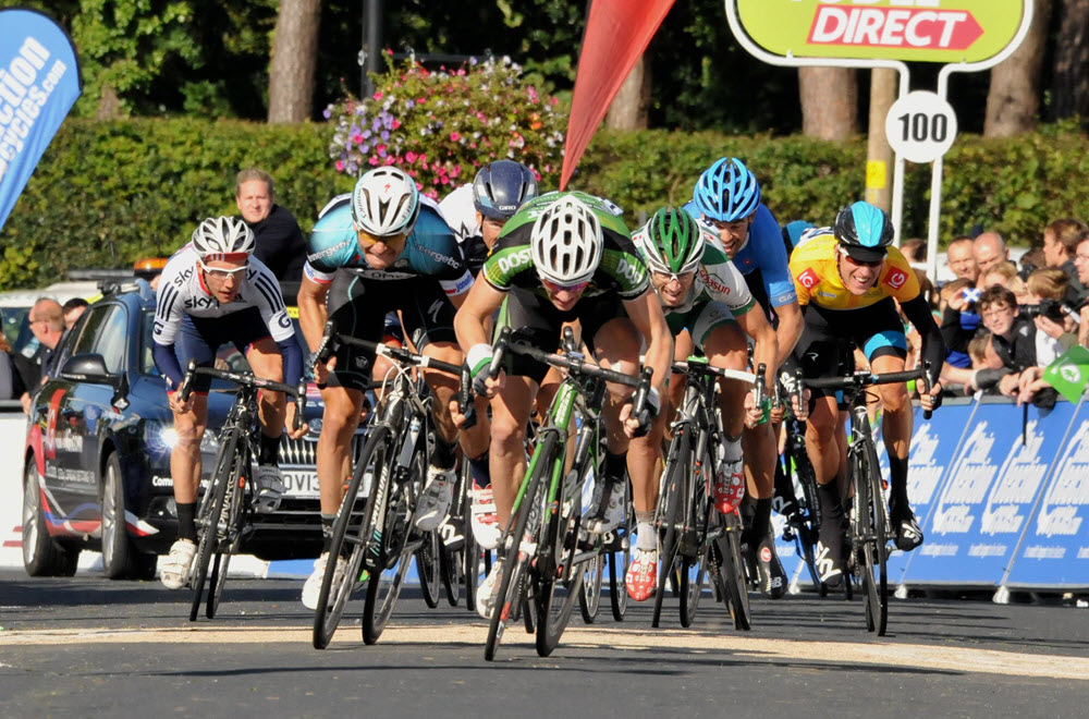 See the Tour of Britain Cycle Race near you in North Notts!